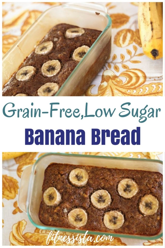 grain-free low sugar banana bread