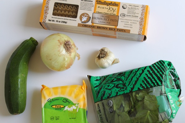 slow cooker lasagna ingredients