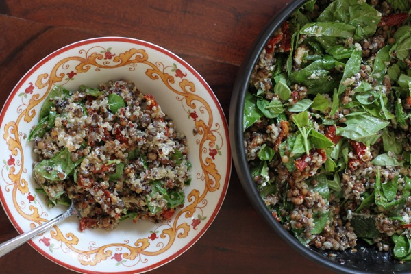 Quinoa lentil salad  1 of 1 2