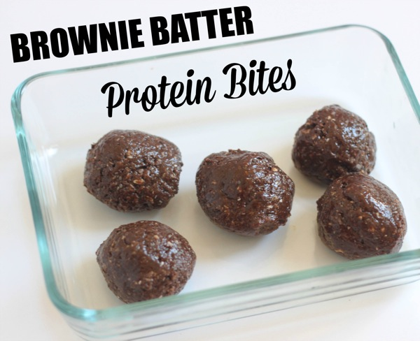 Brownie batter protein bites  1 of 1 2