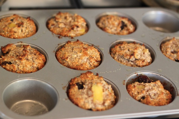 cherry tropical muffins