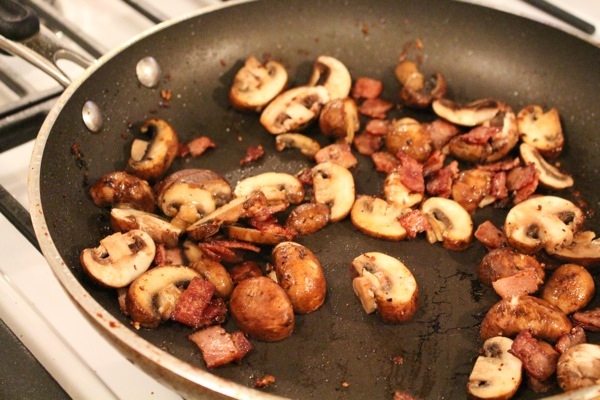 Mushrooms and bacon  1 of 1