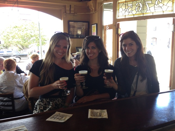My first Irish coffee