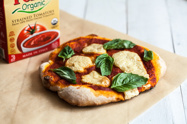 Perfect Vegan Pizza Margherita | The Full Helping