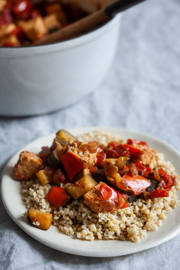 Tempeh Ratatouille | The Full Helping